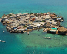 Santa Cruz del Islote, la isla más abarrotada del planeta