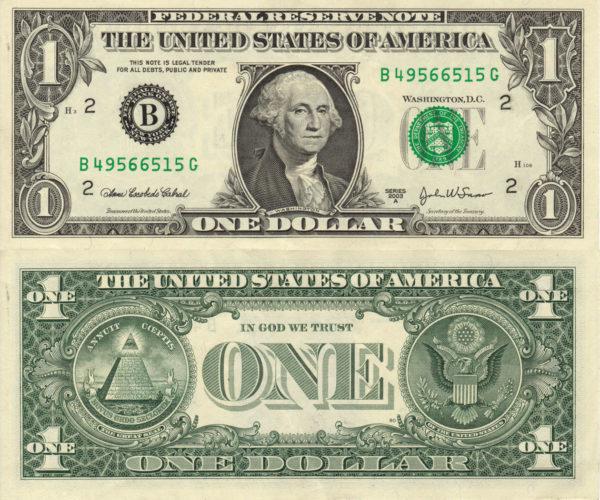 8 códigos secretos que desconocías de los billetes de dólar