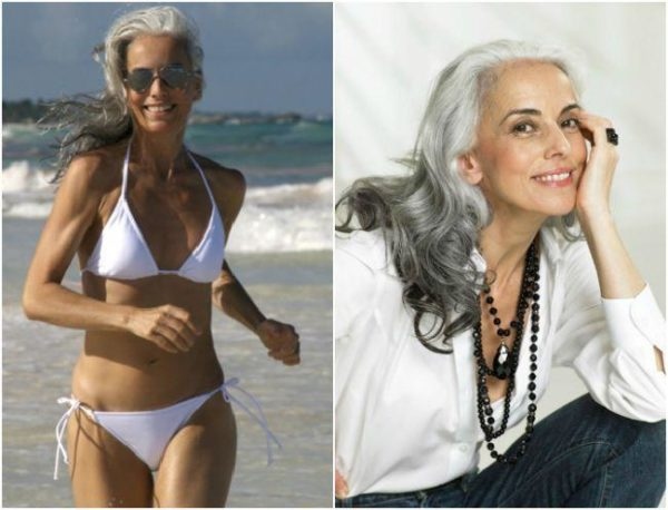 Mira a la abuela más atlética del mundo. Con 60 años de edad tiene un excelente cuerpo y salud