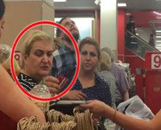 Gringa humilla en público a mexicana y la hace llorar. Lo que hizo el gerente fue increíble e inesperado