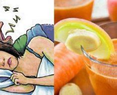 Con este jugo natural tu esposo dejará roncar todas las noches