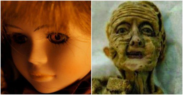 El horrible caso de la muñeca que envejeció