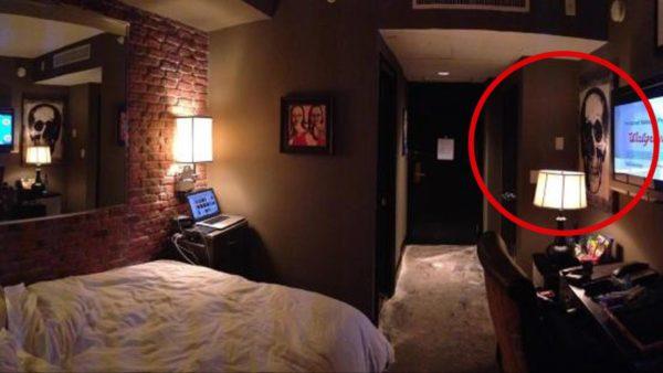 misteriosa habitación secreta del Hotel ZaZa