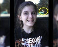 Una selfie le puso la piel de gallina a un pequeño pueblo de Estados Unidos