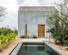 Tiny House en Puerto Escondido, México, es la casa más estrecha del mundo