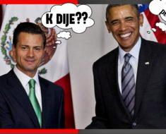 """Mira el video de cuando Obama humilló a Peña Nieto. """"Yo no robo a la gente, les ayudo"""""""