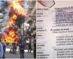 La Biblia tenía razón. Predijo los ataques de Siria