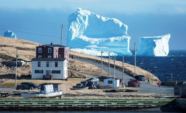 ferryland iceberg alley costa labrador canada