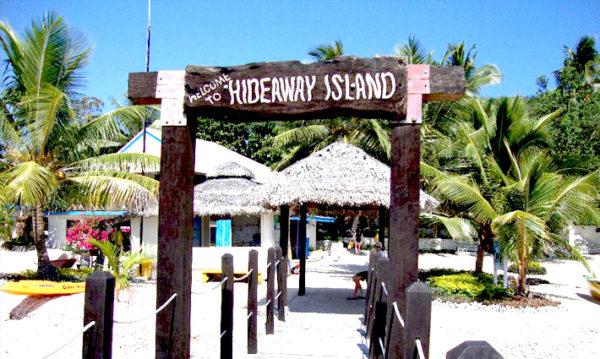 hideaway island vanuatu oficina postal bajo el mar