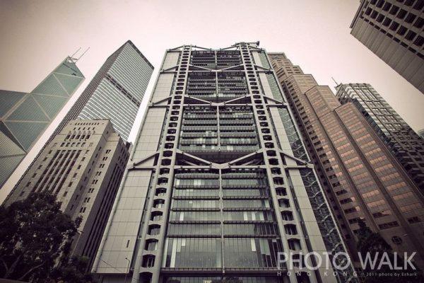 hong kong edificio orificio puertas de dragones