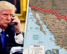 Gracias a Trump, México recuperará parte de su territorio por su plan de hacer un muro