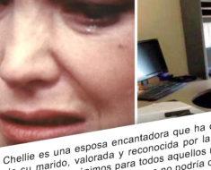 Le hizo una visita a su esposo en el trabajo y entonces, rompió a llorar…