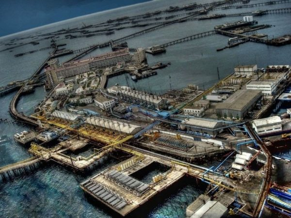 La impresionante ciudad artificial construida en medio del mar