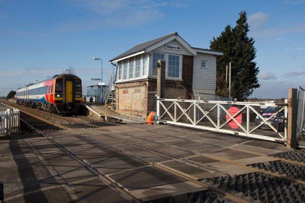 Shippea Hill estación de trenes más tranquila del mundo