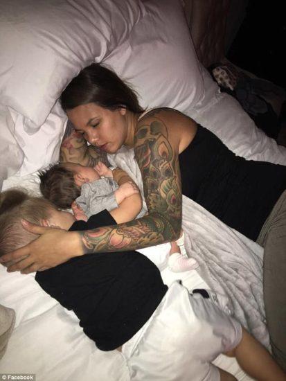 Su marido la tomó una foto mientras dormía, sin imaginar las consecuencias
