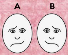 ¿Sabés cuál de estas caras está feliz? Tu respuesta dice mucho sobre ti