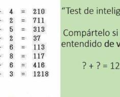 Este test solo lo resuelven personas con 150 de coeficiente intelectual, ¿eres uno de ellos?