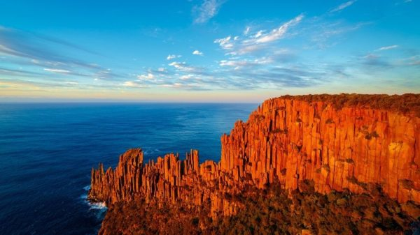 totem pole formacion dolerita tasmania