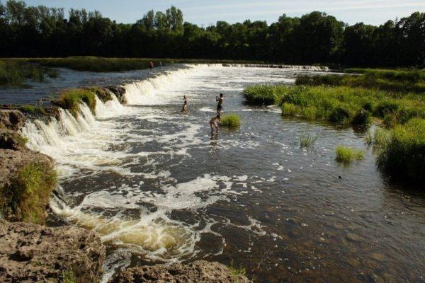 Venta Rapid, la cascada más ancha y corta de Europa