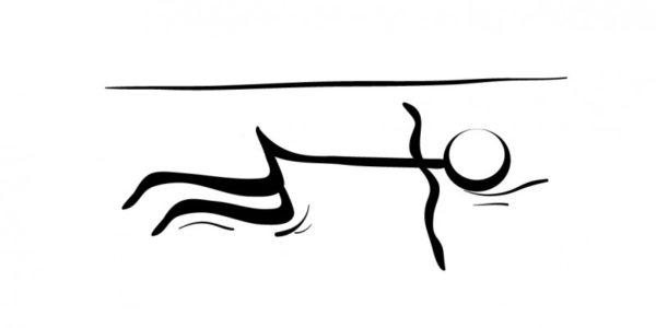 yoga para dormir postura torsion columna supina