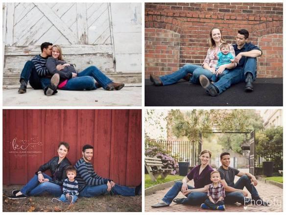 Llevan 3 años divorciados y a pesar de todo, no han dejado de hacerse retratos familiares