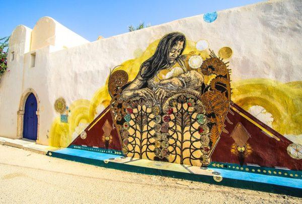 Djerbahood Project, arte urbano en Túnez