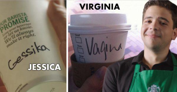 Esta es la razón por la que en Starbucks siempre escriben mal tu nombre