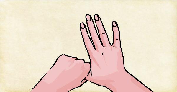 Rodear el dedo pulgar