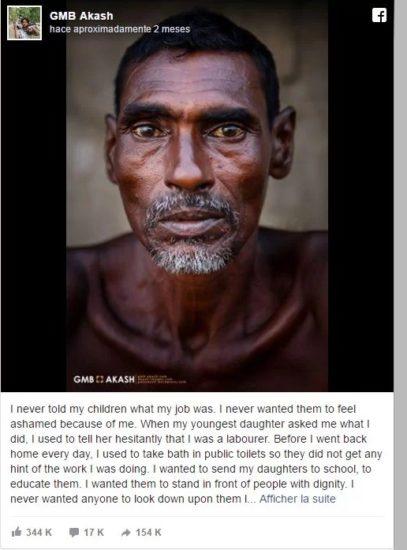 Este padre le ocultó su trabajo a sus hijas para que no sintieran vergüenza, pero él lo hizo por su educación