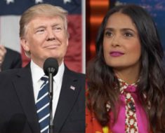 Salma Hayek reveló que Donald Trump intentó enamorarla. Esta fue la técnica que intento…
