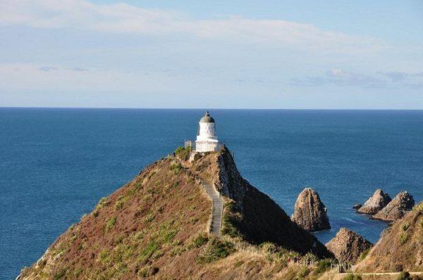 El faro de Nugget Point | Un pequeño paraíso en Otago, Nueva Zelanda