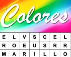 Test: ¿Qué color encuentras primero en esta sopa de letras? El color refleja varios aspectos de tu personalidad