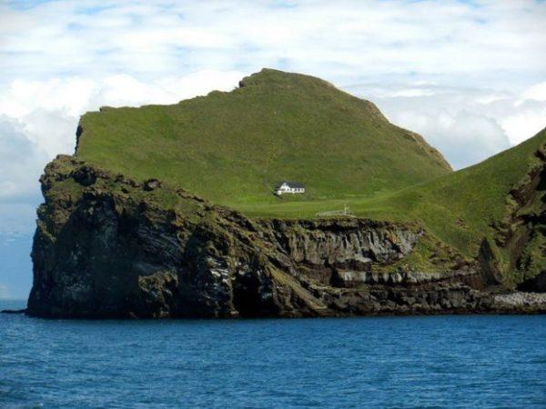 Elliðaey Island, Islandia