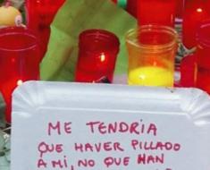 El conmovedor mensaje que un vagabundo dejó en el sitio del atentado de Barcelona