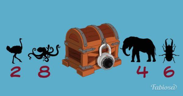 Esta caja fuerte tiene un tesoro para ti, ¿podrás adivinar sus 4 cifras secretas?