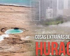 Hechos insólitos que sucedieron durante el huracán Irma y su explicación