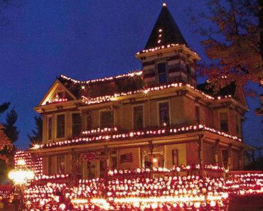 Kenova Pumpkin House, una curiosa atracción con 3.000 linternas de calabaza en Virginia