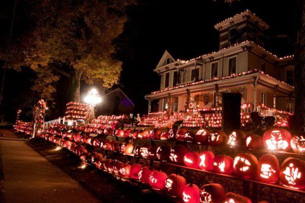 Kenova Pumpkin House, una curiosa atracción en Virginia