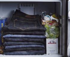Mete tus jeans en el congelador durante 24 horas: ¡no creerás el resultado!