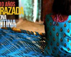 Niña de 10 años con avanzado embarazo desata furia en Mendoza, Argentina