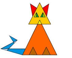 ¿Sabes cuántos triángulos tiene este gato? La respuesta podría convertirte en un genio
