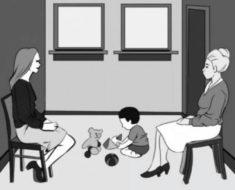 Desafío visual: ¿Cuál es la verdadera madre del bebé?