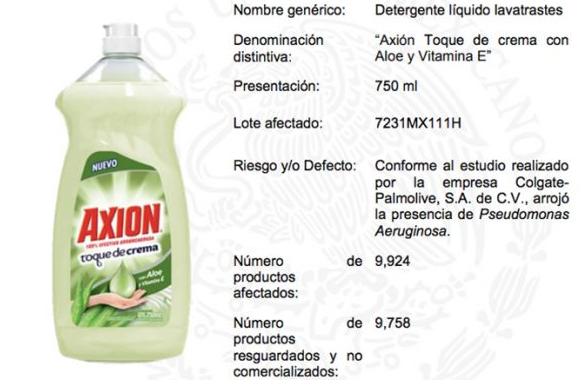 ¡Alerta! Este lavatrastes contiene una bacteria, Profeco pide evitar su uso