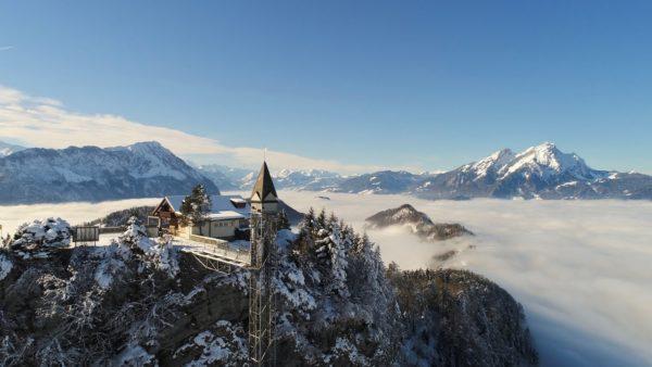 Hammetschwand, el ascensor más alto al aire libre de Europa