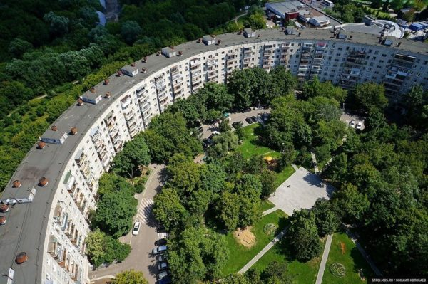 House-Bagel, una de las construcciones más insólitas de Moscú