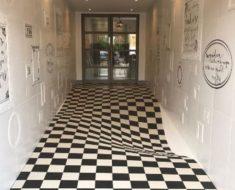 Ilusión óptica: ¿Este suelo es plano o curvo?