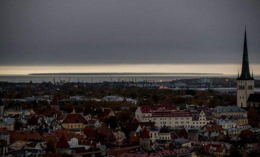 La insólita lluvia negra que el huracán Ophelia provocó en Estonia