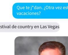 El mensaje que este hombre le envió a su amiga tras la matanza de Las Vegas, te conmocionará