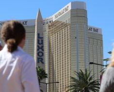 papel hallado en la habitación del asesino de Las Vegas