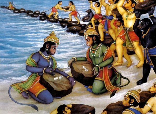 Puente de Adán, un puente construido por monos entre India y Sri Lanka